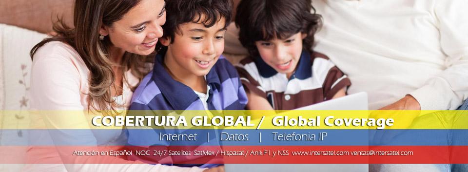 Internet via Satelite en Colombia